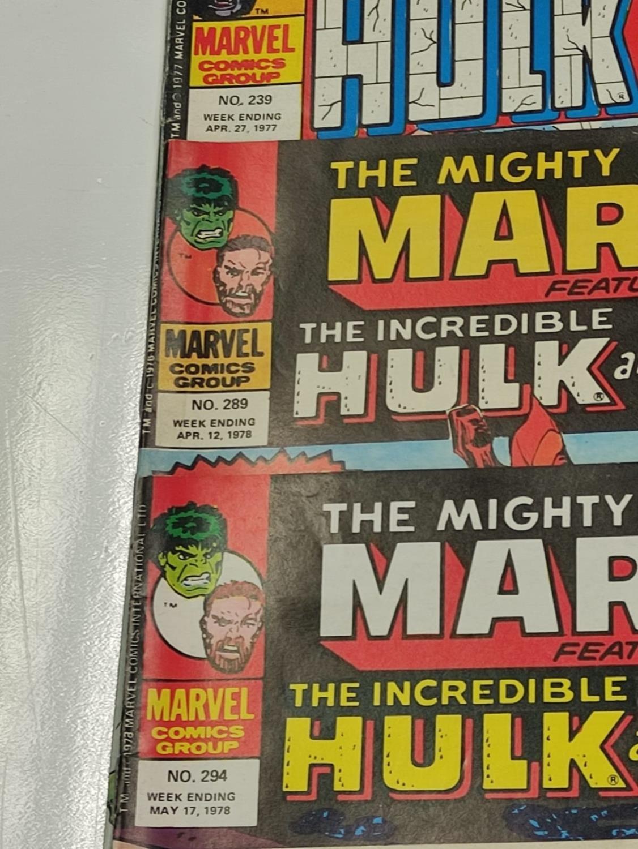 20 Mixed Vintage Marvel Comics. - Image 26 of 42