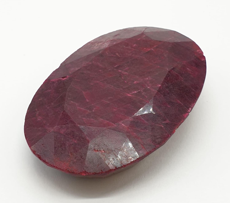 661ct Massive size rectangular Ruby Gemstone GLI CERTIFIED - Image 3 of 6