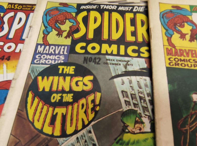 6 x Marvel comics. 1973 Spider-Man comics weekly. - Image 10 of 13