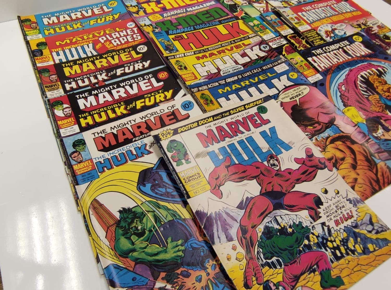 20 Mixed Vintage Marvel Comics. - Image 36 of 42