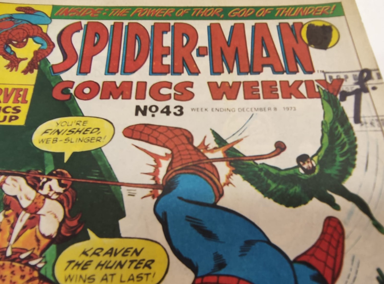 6 x Marvel comics. 1973 Spider-Man comics weekly. - Image 6 of 13
