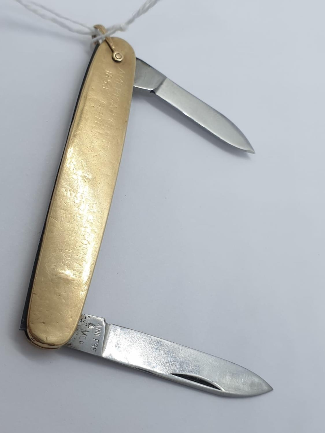 10ct gold pen knife, weight 21.4g - Image 2 of 3