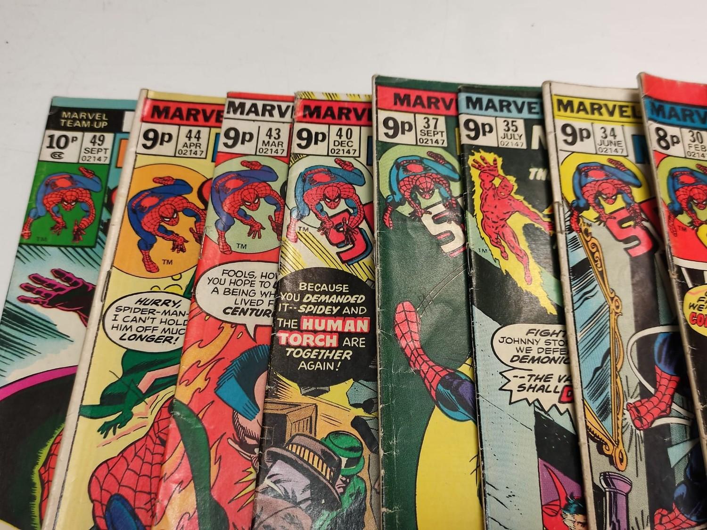 24 x Marvel comics. Marvel Team-Up featuring Spider-Man. 1977 - 1980. - Image 7 of 10