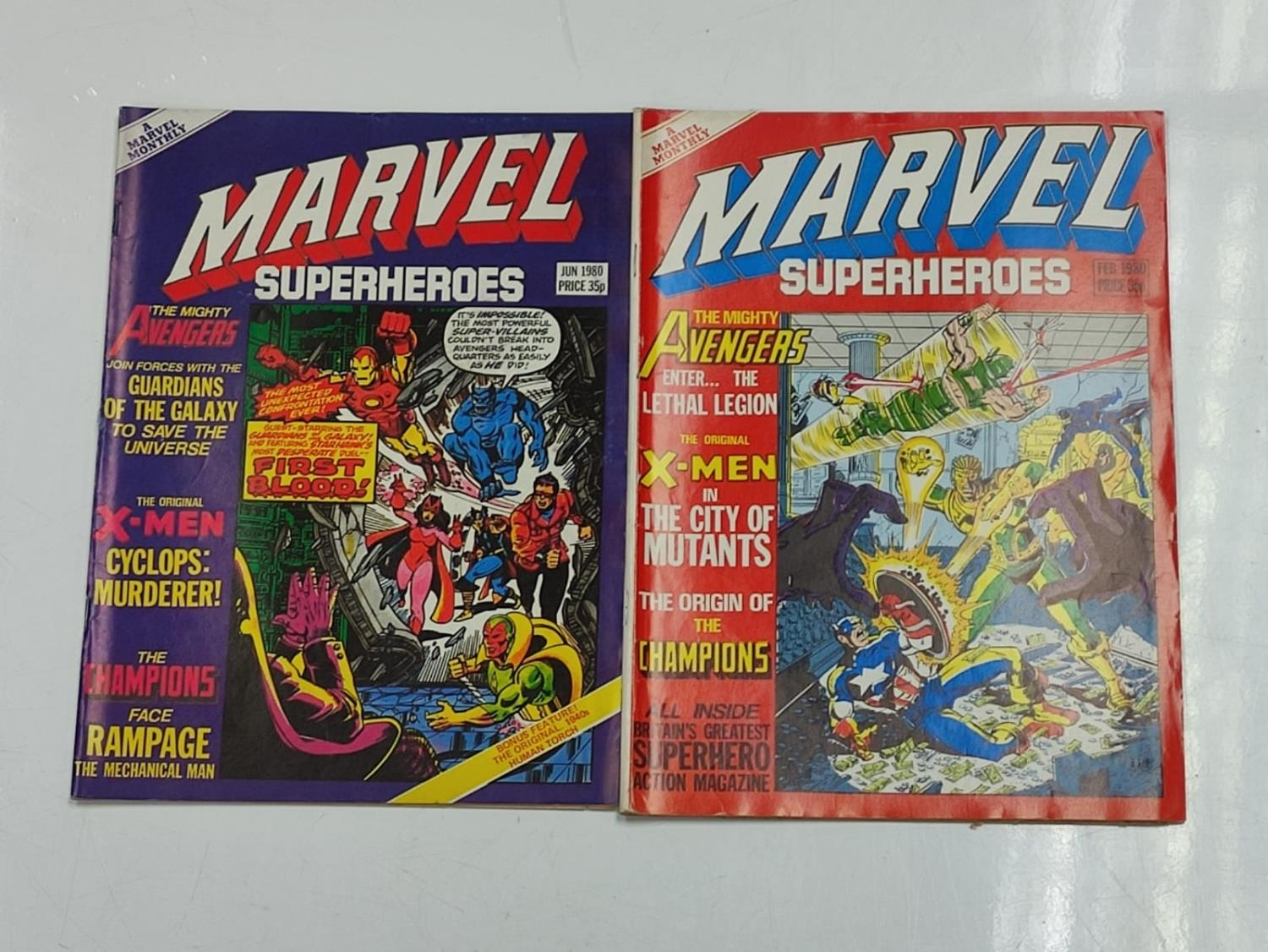 20 editions of mixed Vintage Marvel Comics. - Image 24 of 56