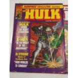 7 editions of Vintage Ramgage Magazines 'The Hulk'.