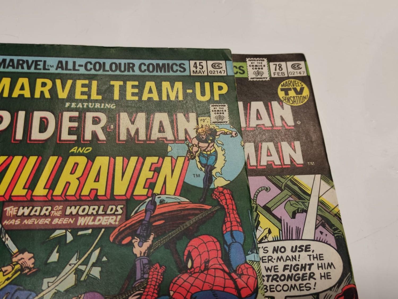 24 x Marvel comics. Marvel Team-Up featuring Spider-Man. 1977 - 1980. - Image 5 of 10