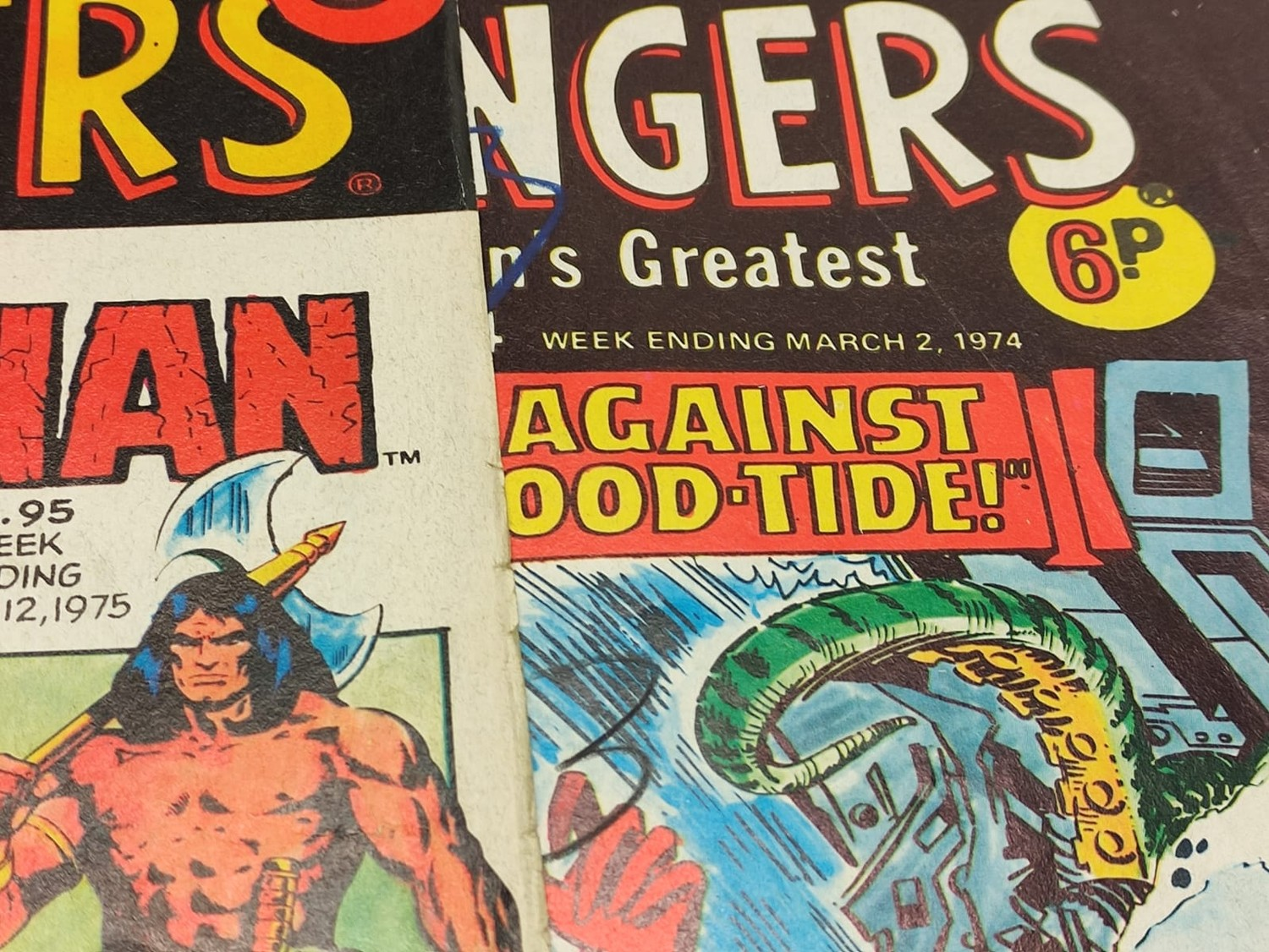 25 x Marvel comics. The Avengers. Dating from 1974-1976 - Image 13 of 18
