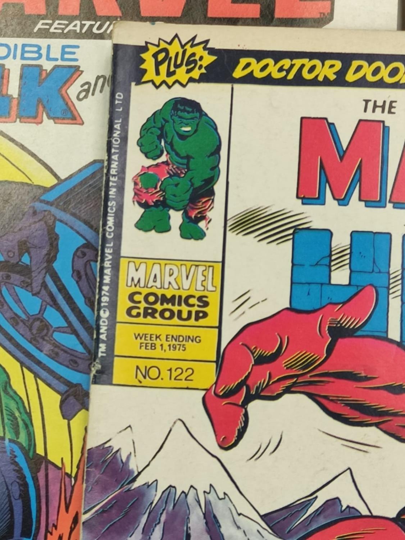 20 Mixed Vintage Marvel Comics. - Image 21 of 42