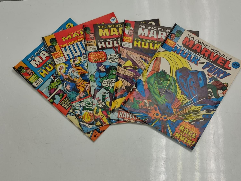 20 Mixed Vintage Marvel Comics.
