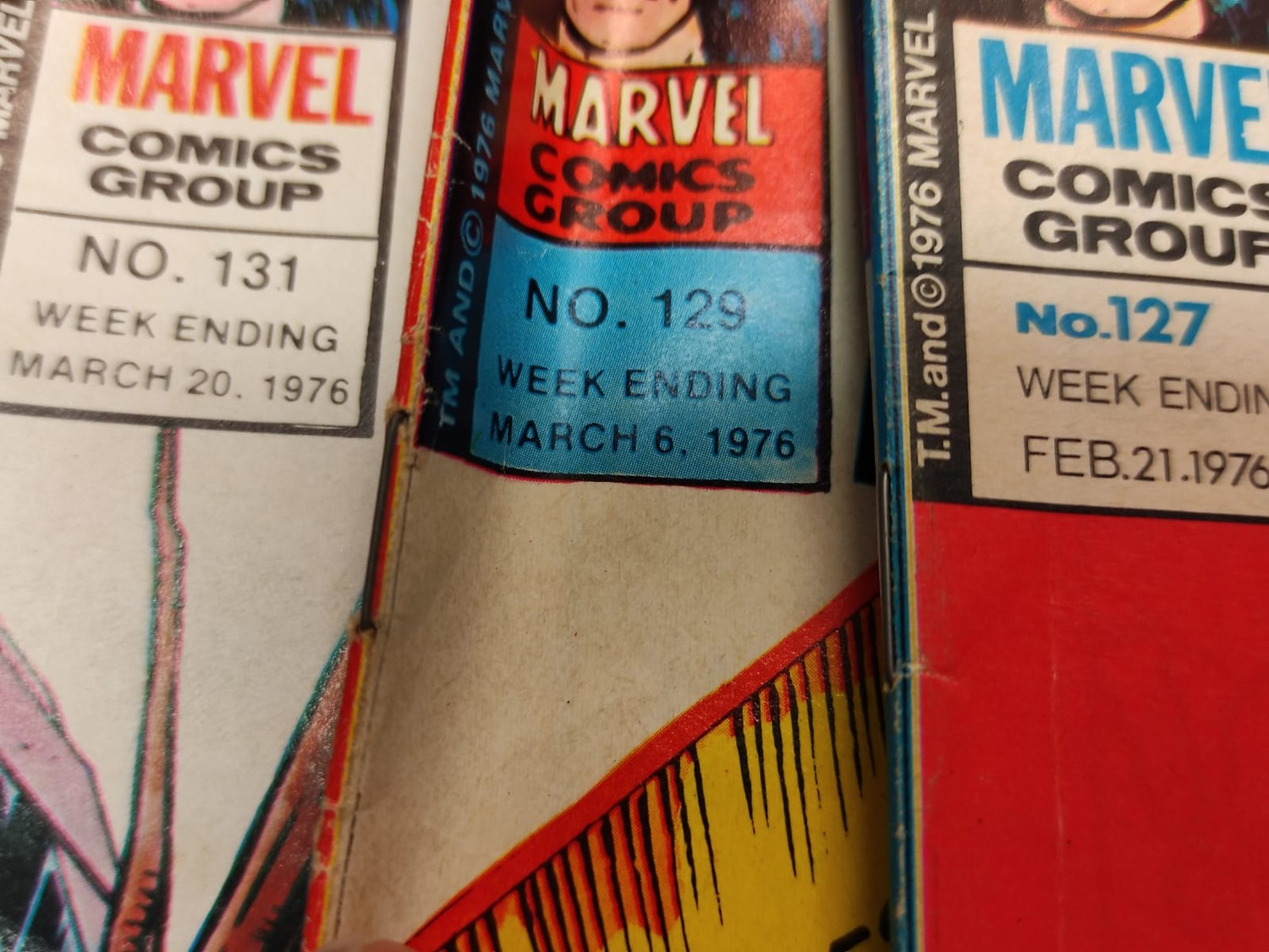 25 x Marvel comics. The Avengers. Dating from 1974-1976 - Image 9 of 18