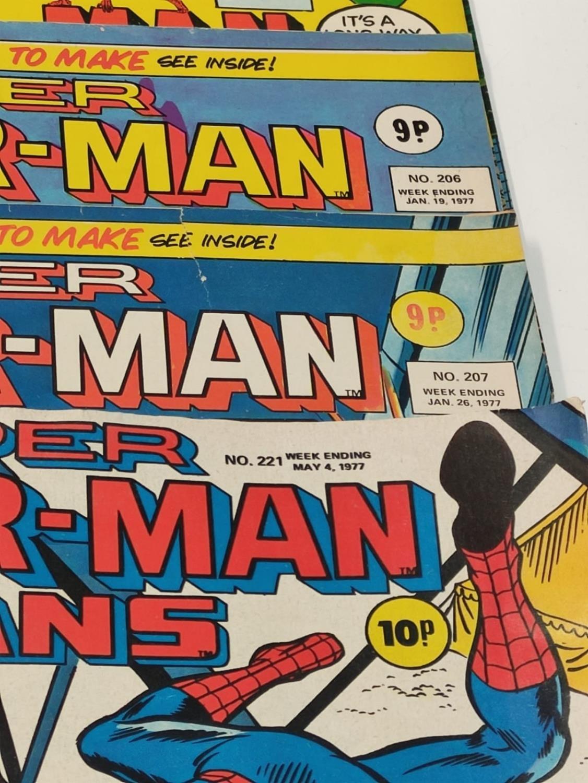 27 editions of Vintage Super Spider-Man Marvel Comics. - Image 5 of 13