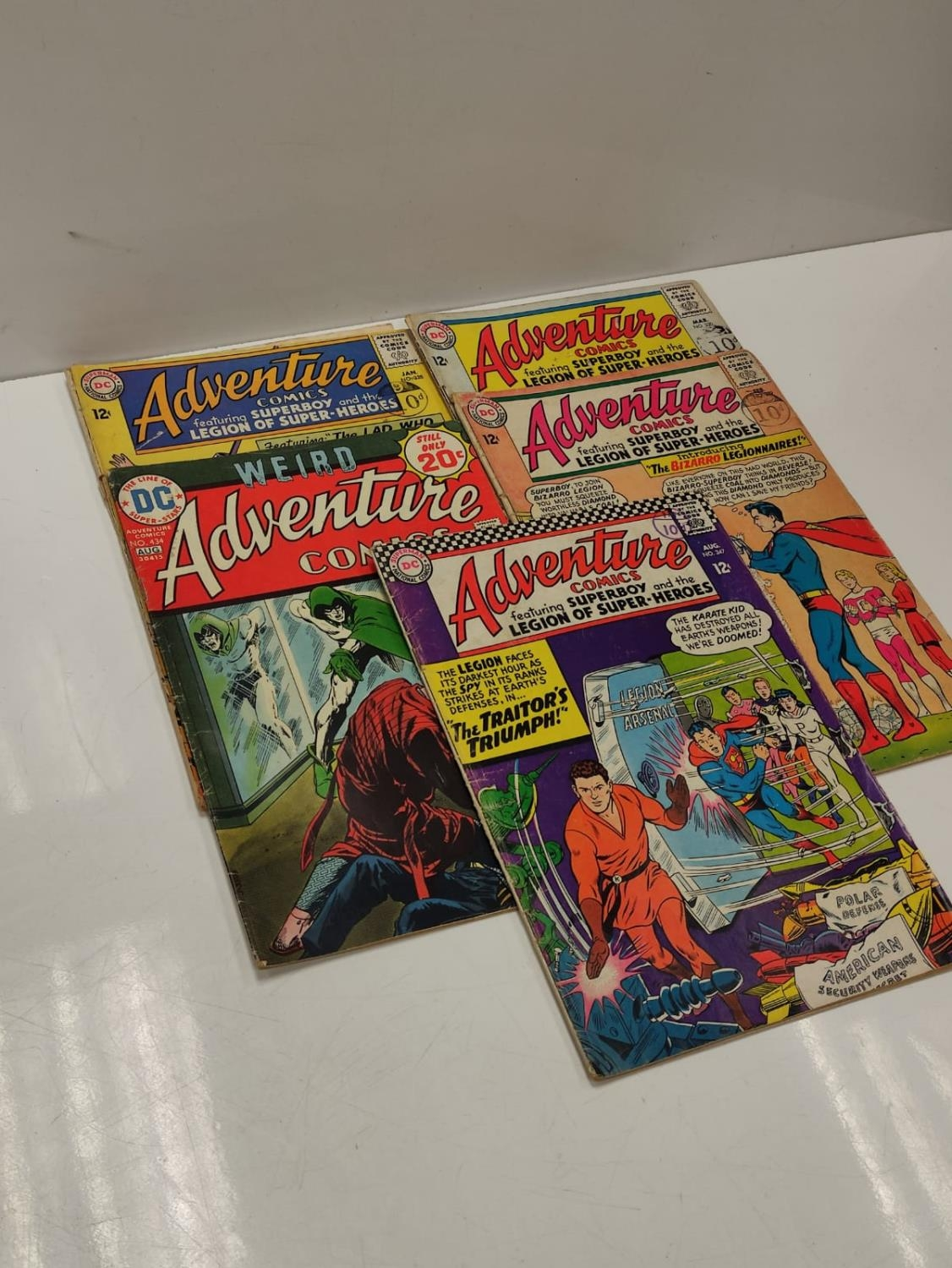 5 editions of DC Adventure Comics featuring Super-boy. - Image 19 of 19