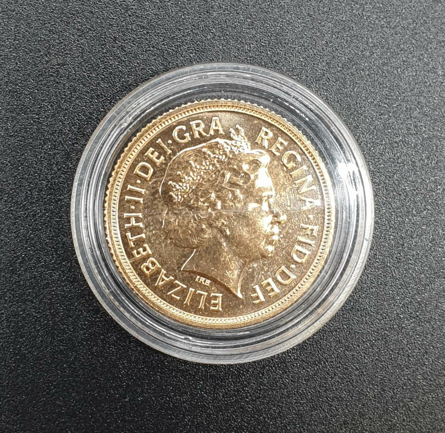 Gold Sovereign Dated 2015 in capsule - Image 2 of 2