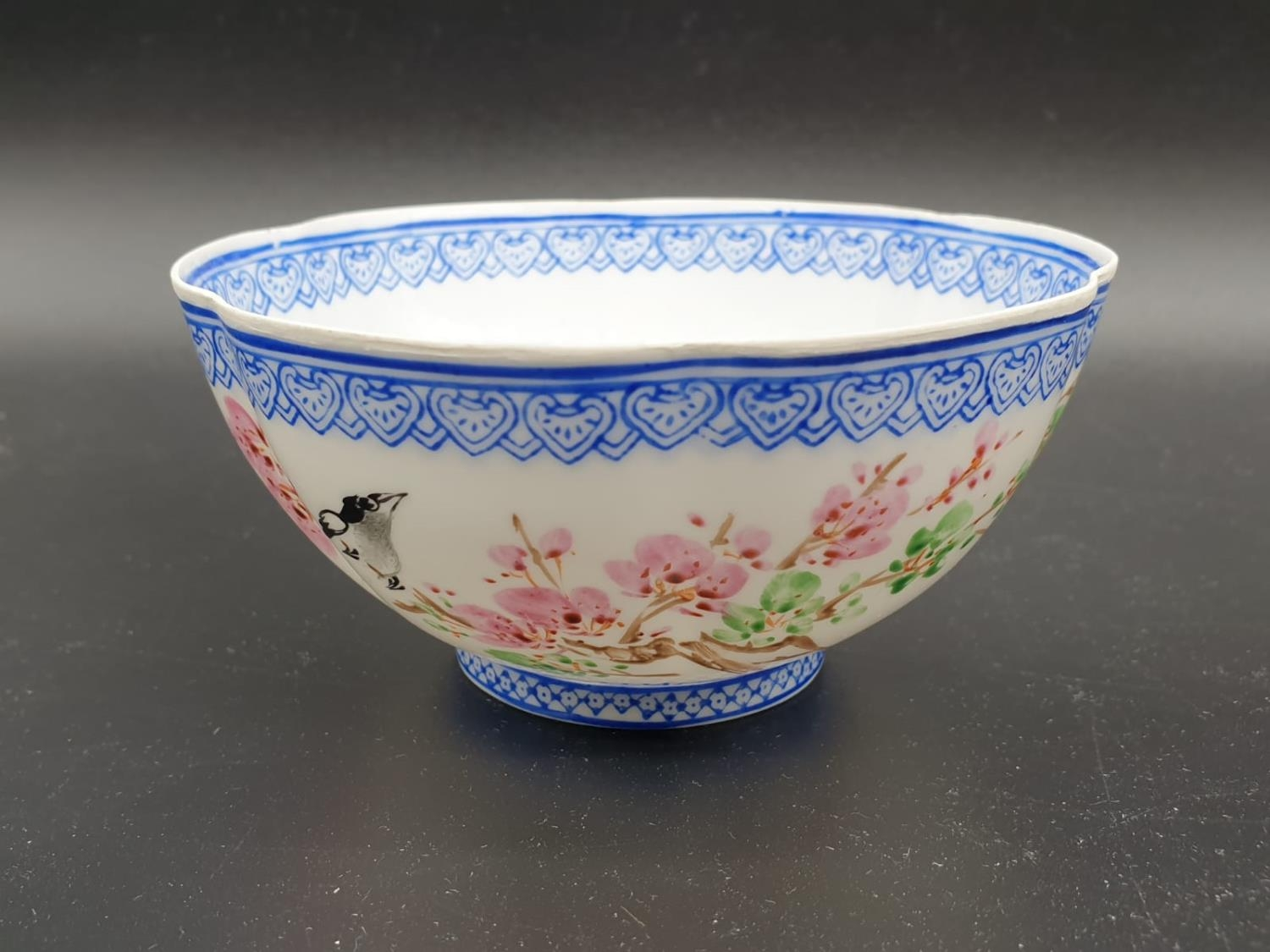 Collection of small bowls, English, Irish and Oriental. Largest bowl is 10cm in diameter. All good - Image 5 of 17