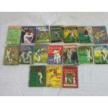 17 News Chronicle's The Cricketer Annual. 1930'2 to 50's.
