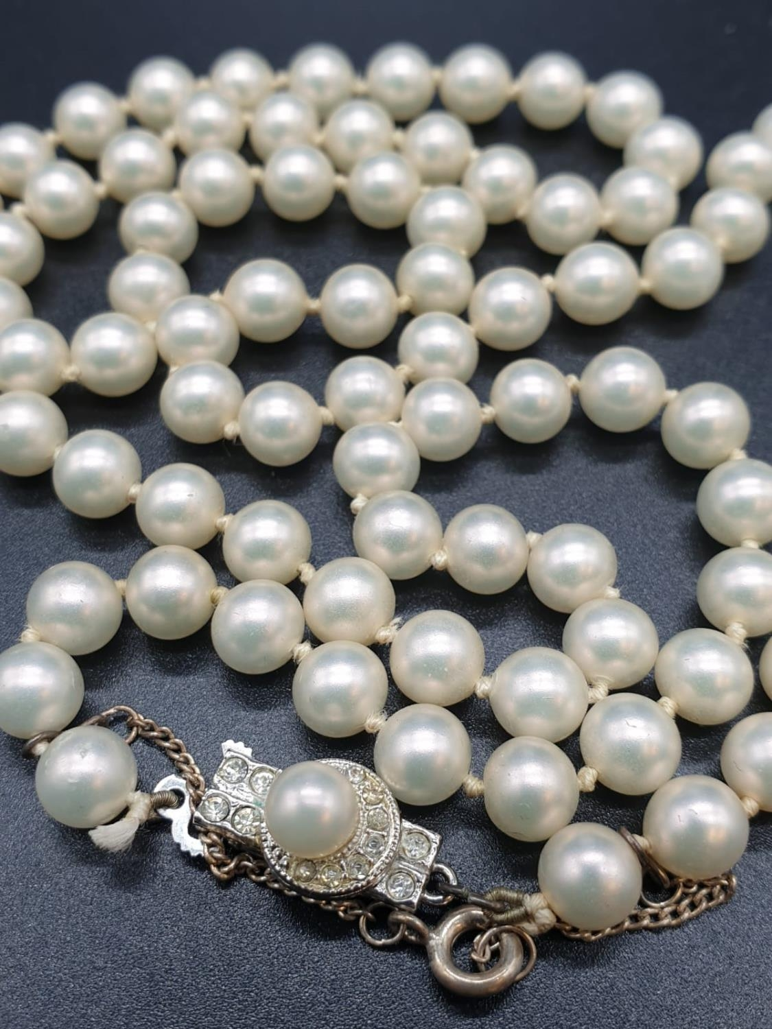 A 60cm String or Cultured Pearls 30g - Image 2 of 5