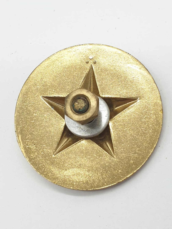 Vietnam War Era Vietcong Officers Shoulder Boards, Helmet Badge and a Collar. - Image 9 of 10