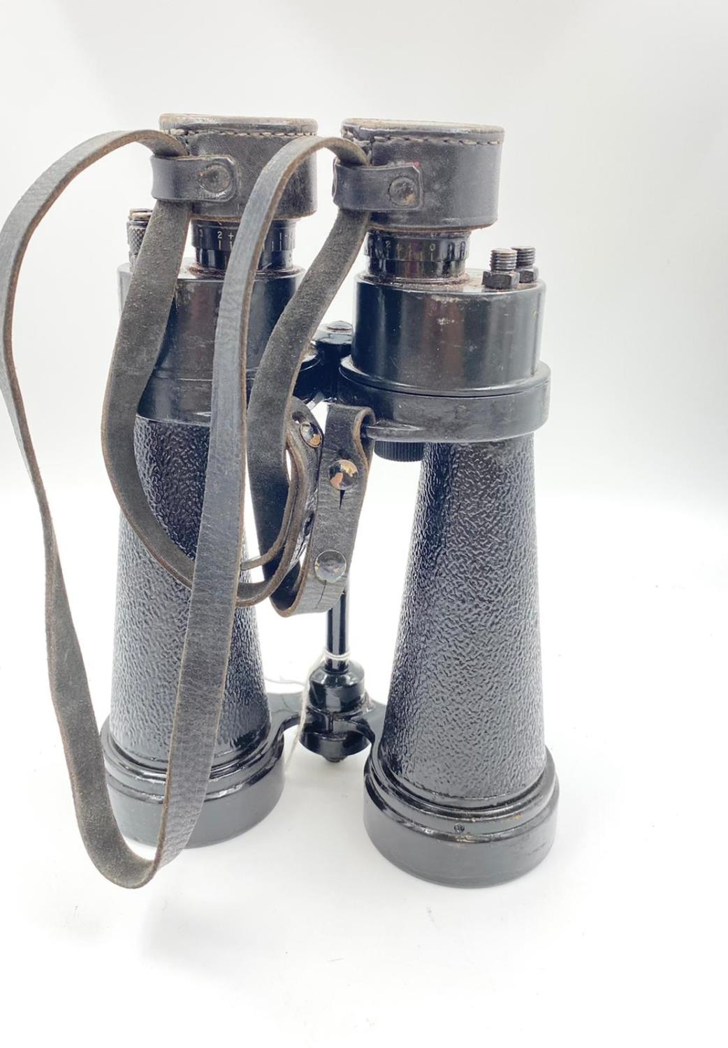 1942 Dated Barr & Stroud Royal Navy Submarine Hunting Binoculars. With anti-glare filters. - Image 2 of 5