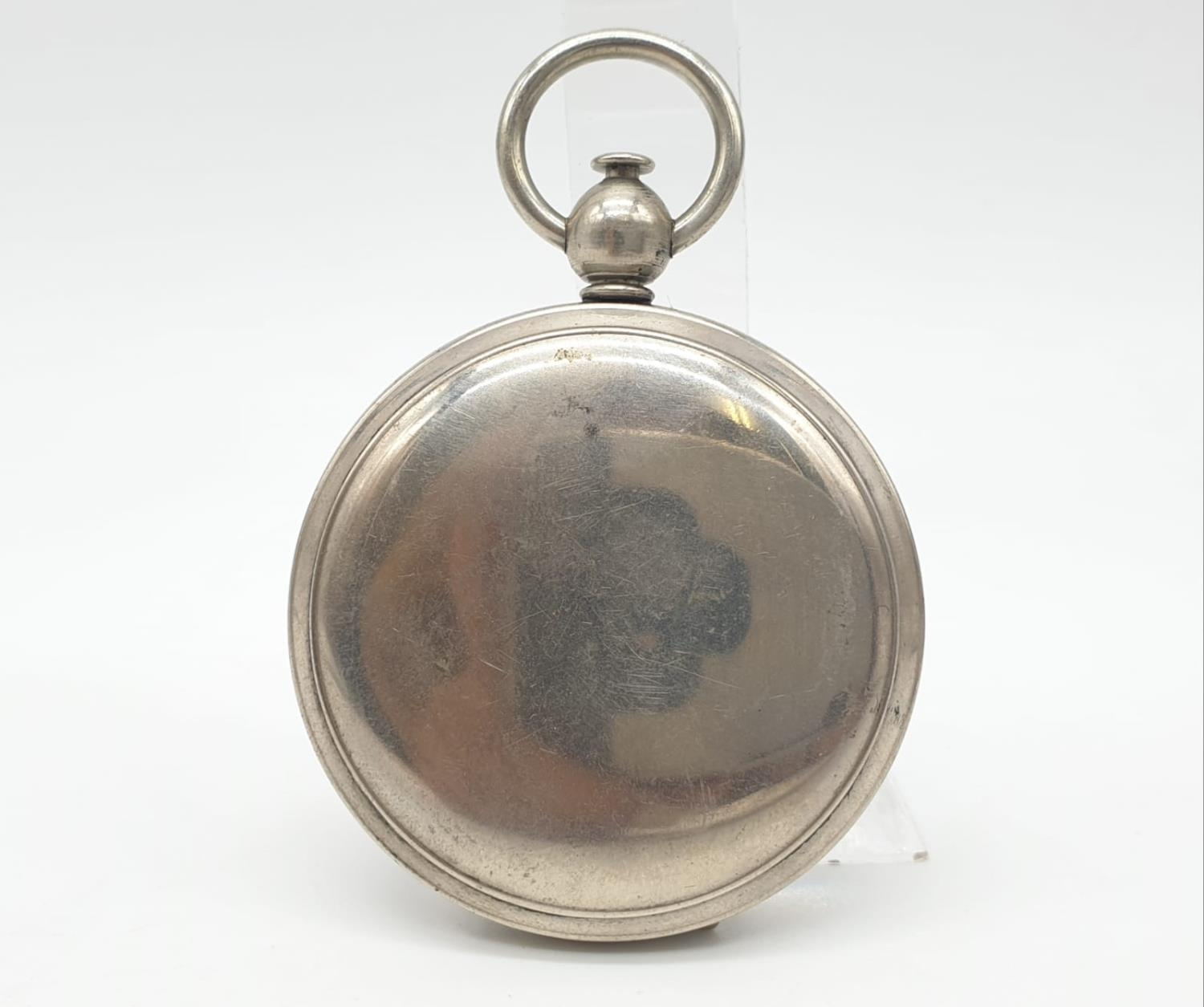 WW1 US Army Pocket Watch Compass circa1917. Maker: Wittnauer. - Image 4 of 5