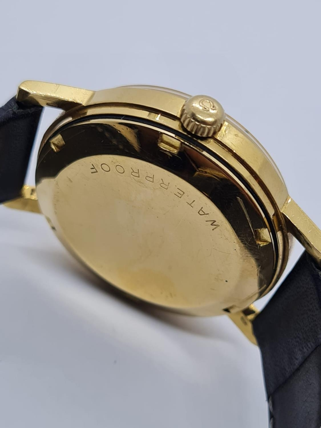 Vintage Omega Automatic Gents WATCH 18ct Gold circa 1970. 35mm case. - Image 4 of 4