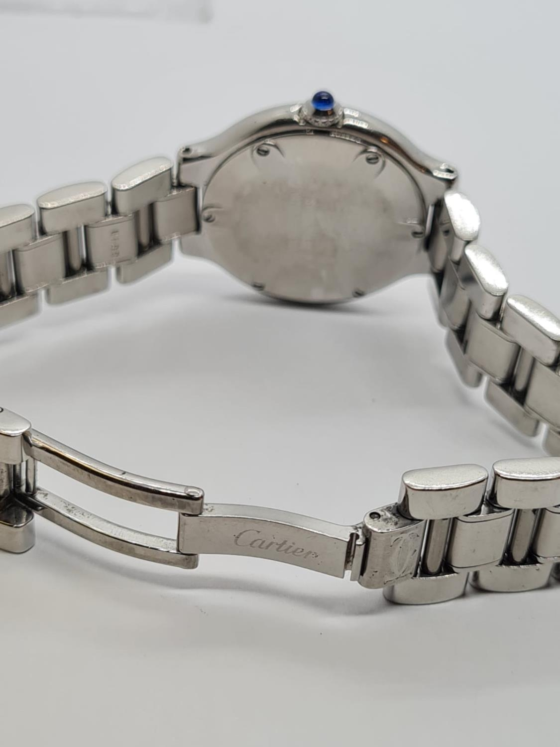 Must de Cartier Ladies WATCH with round face and Roman Numerals. 28mm case. - Image 4 of 5