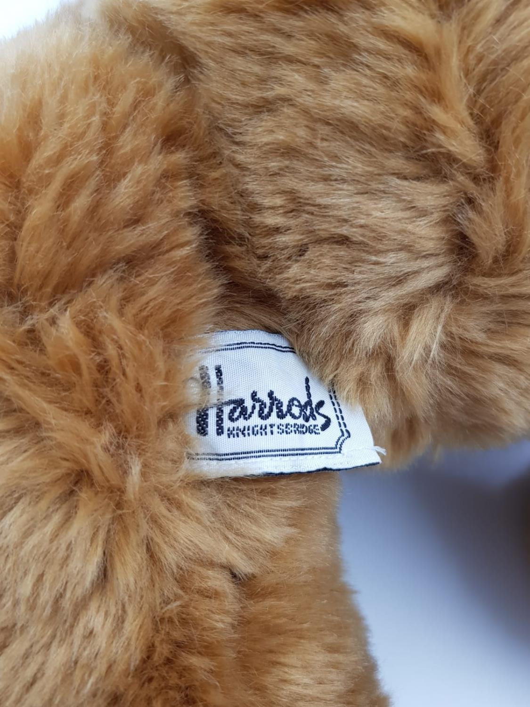 A 1997 Harrods teddy bear. 35cm high. - Image 3 of 3