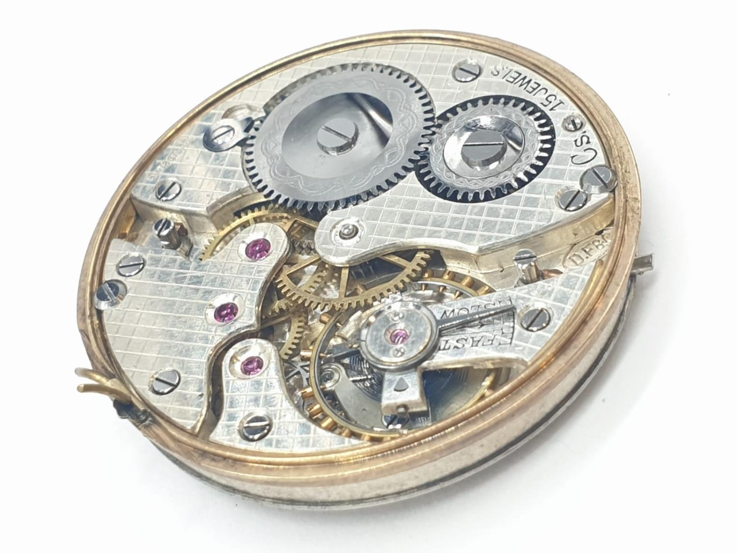 3 x Pocket Watch Movements. 3.0 , 3.5 and 4.5 cm. - Image 10 of 10