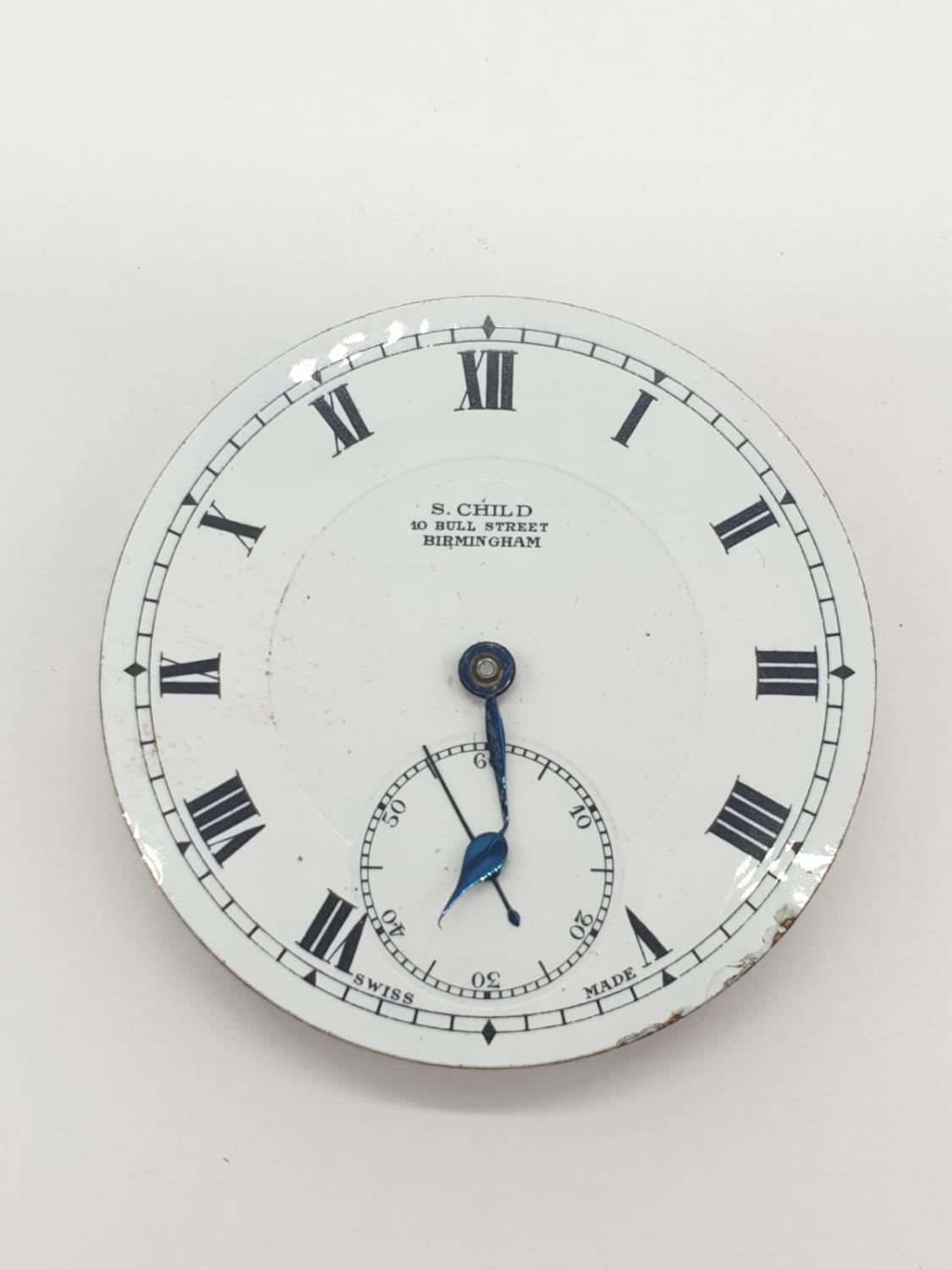3 x Pocket Watch Movements. 3.0 , 3.5 and 4.5 cm. - Image 5 of 10