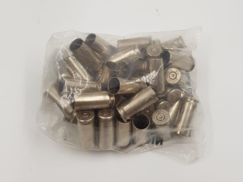 40 x Winchester 38 calibre super auto plus P CARTRIDGE CASES (ideal for display)