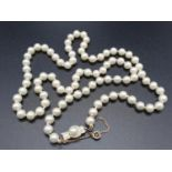A 60cm String or Cultured Pearls 30g