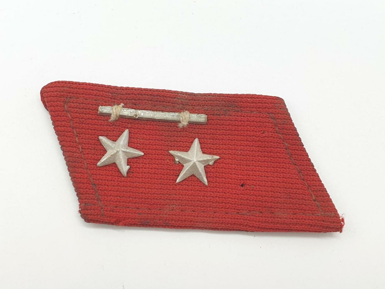 Vietnam War Era Vietcong Officers Shoulder Boards, Helmet Badge and a Collar. - Image 4 of 10