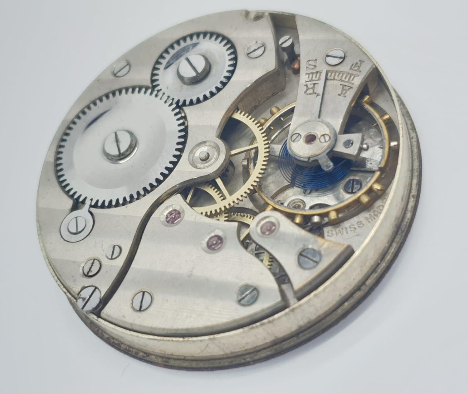 3 x Pocket Watch Movements. 3.0 , 3.5 and 4.5 cm. - Image 7 of 10