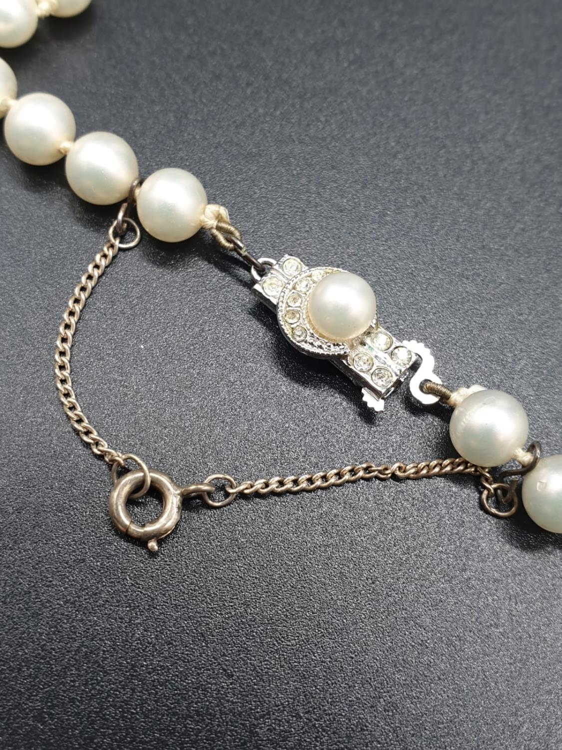 A 60cm String or Cultured Pearls 30g - Image 5 of 5