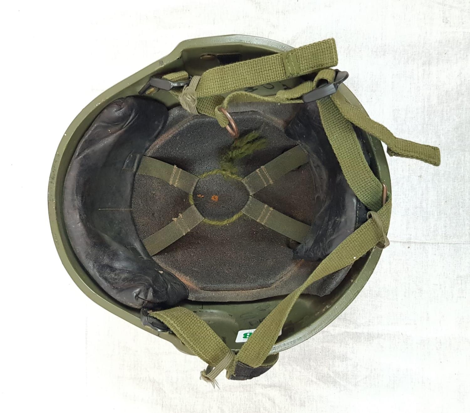 Military Issue Ballistic HELMET previously issued to Pte Cargill, 4 Platoon (as marked on the - Image 3 of 4