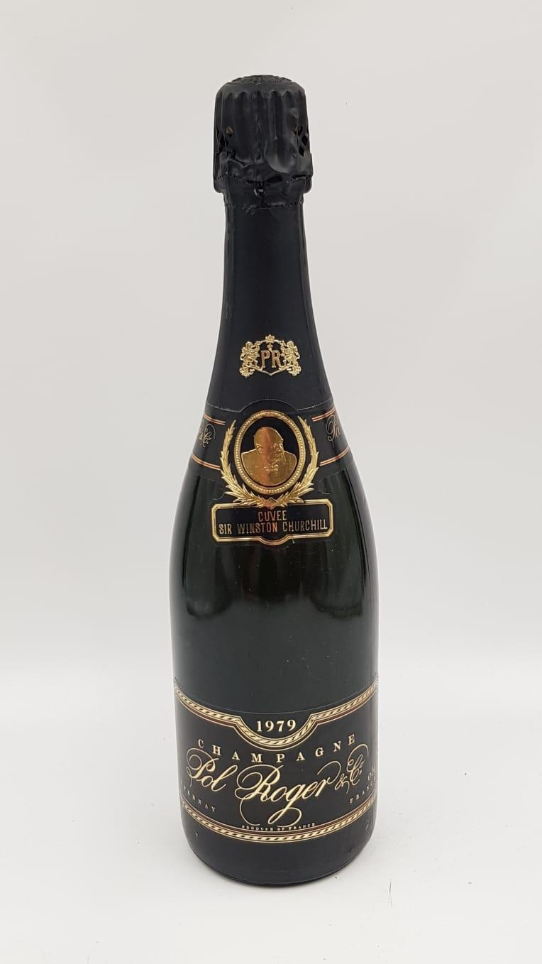 Boxed bottle of vintage POL ROGER CUVEE SIR WINSTON CHURCHILL CHAMPAGNE. With provenance to show
