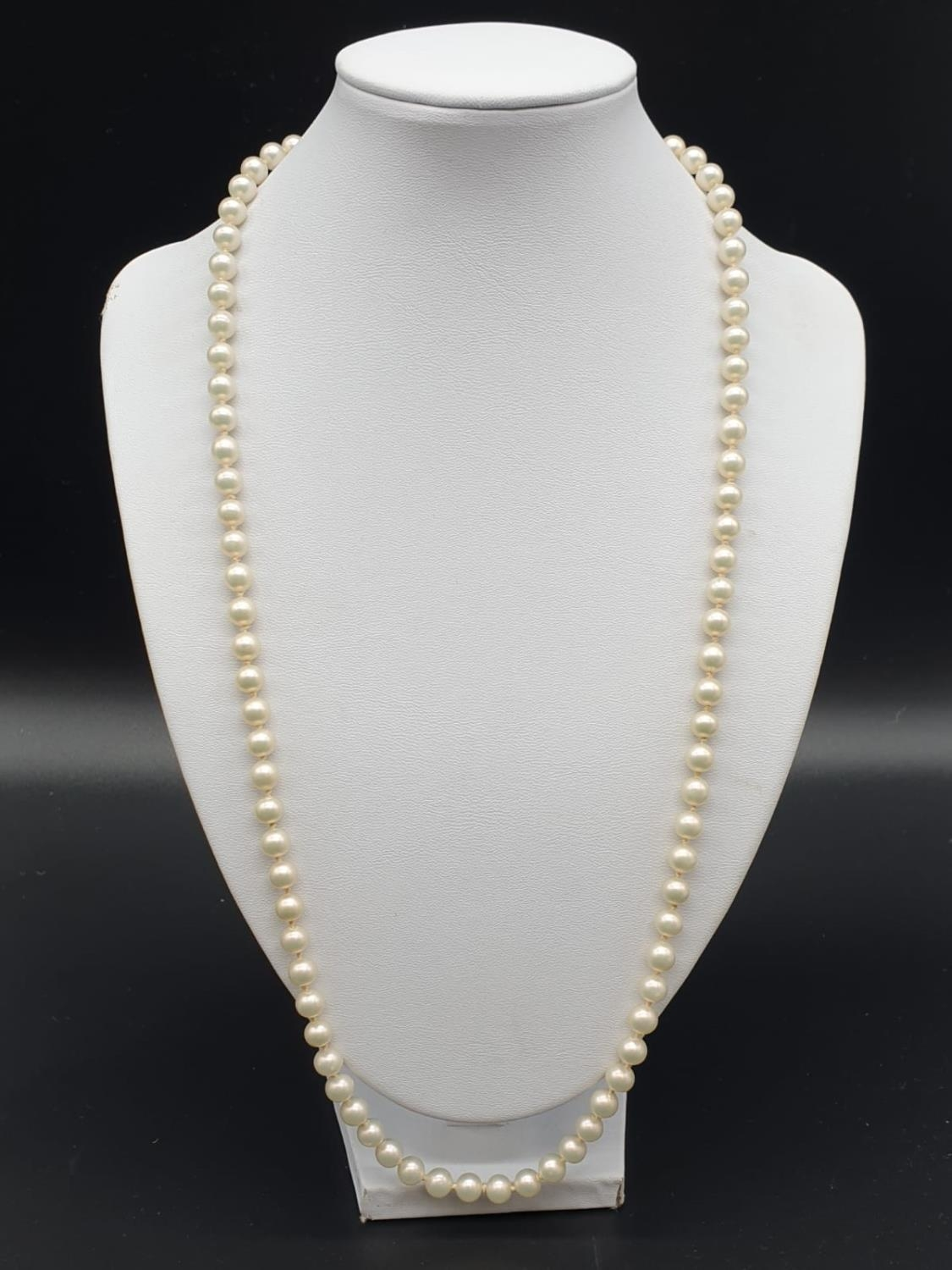 A 60cm String or Cultured Pearls 30g - Image 3 of 5