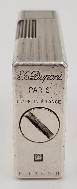 A vintage silver S.T Dupont lighter. - Image 3 of 3