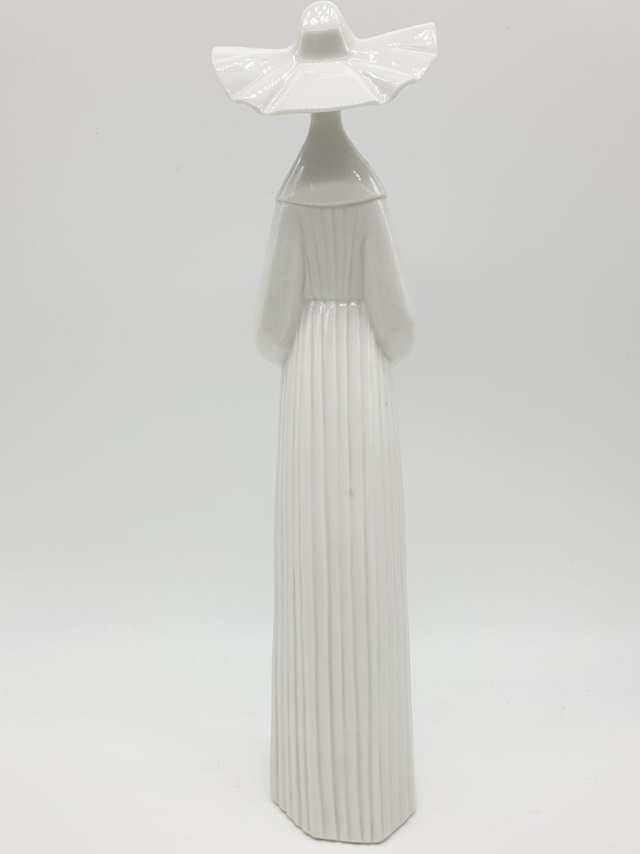 Set of 3 Lladro nuns. 26cm tall. - Image 14 of 20