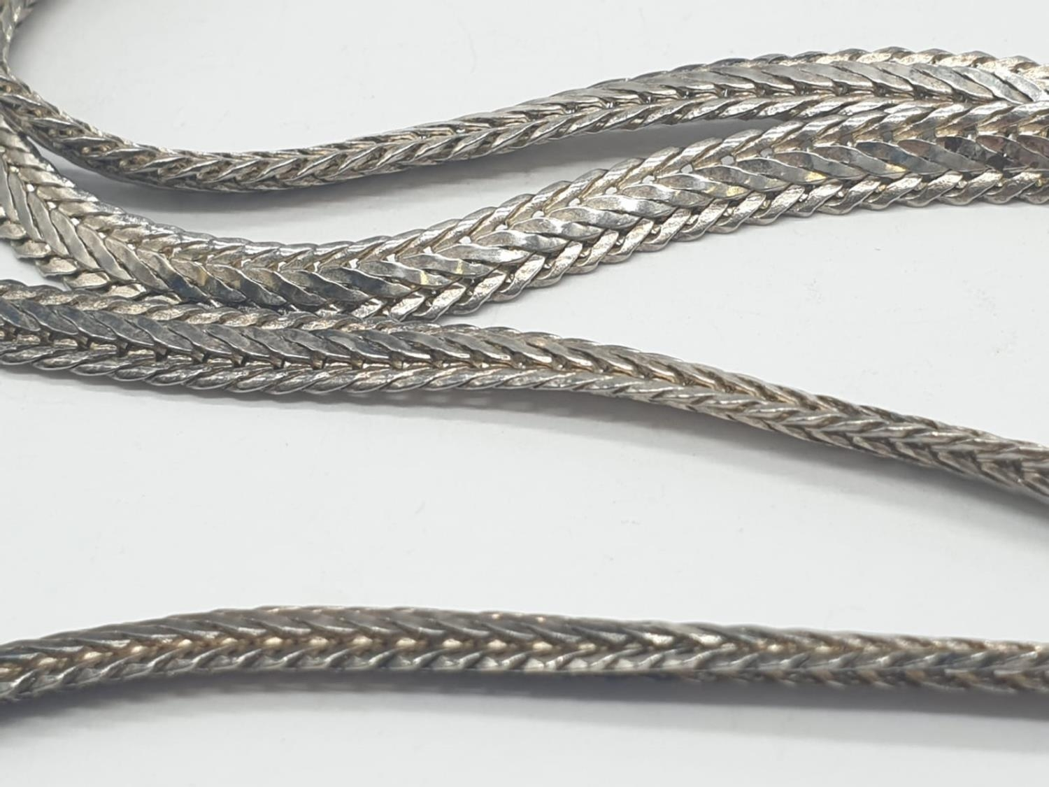 Silver CHAIN. 24.6g 61cm - Image 3 of 5
