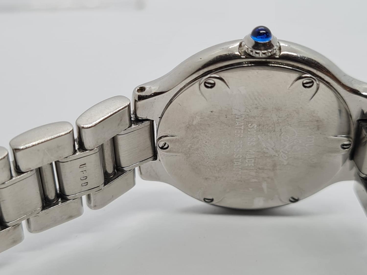 Must de Cartier Ladies WATCH with round face and Roman Numerals. 28mm case. - Image 5 of 5