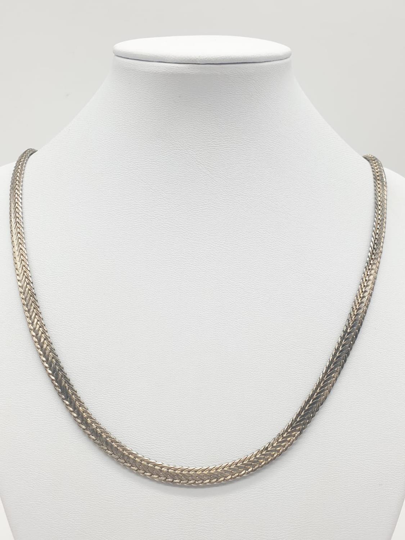 Silver CHAIN. 24.6g 61cm