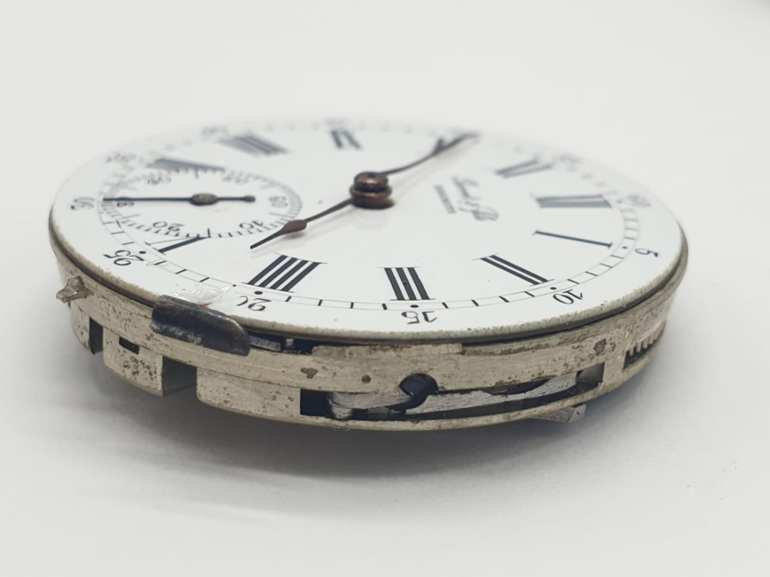 3 x Pocket Watch Movements. 3.0 , 3.5 and 4.5 cm. - Image 3 of 10