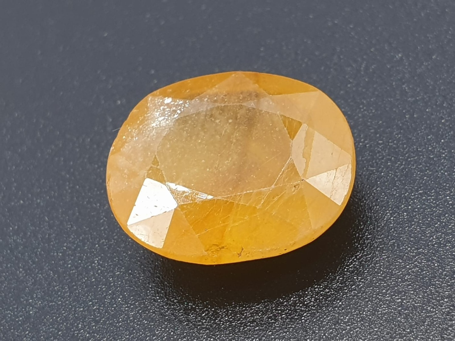 15.40ct IDT Certified Natural Yellow Sapphire