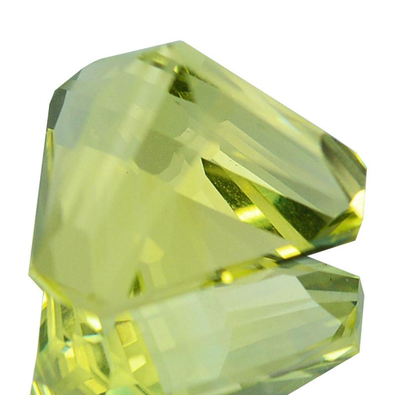 NATURAL LEMON QUARTZ - BRAZIL - 3.47 carats - Certificate GFCO Swiss Laboratory - Image 2 of 3