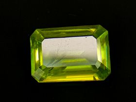 NATURAL COLOR CHANGE SPHENE - MADAGASCAR - 1.56 Cts - Certificate GFCO Swiss Laboratory