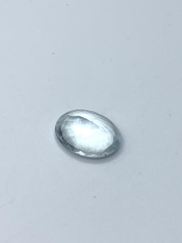 7.58 Ct Aquamarine. IDT Certified - Image 2 of 3