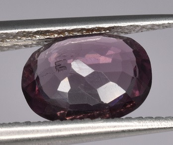 NATURAL PURPLE SPINEL - BURMA MYANMAR - 1.39 Cts - Certificate GFCO Swiss Laboratory - Image 3 of 5