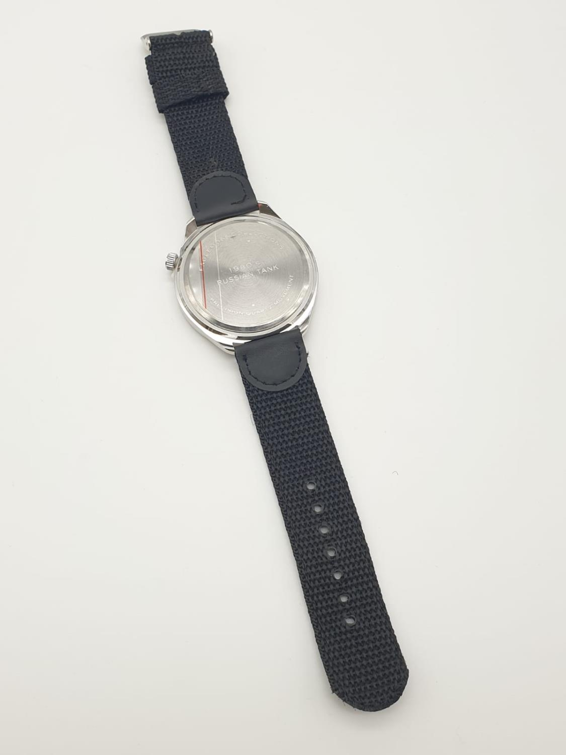 1980'S RUSSIAN TANK WATCH , BOXED AS NEW - Image 5 of 6