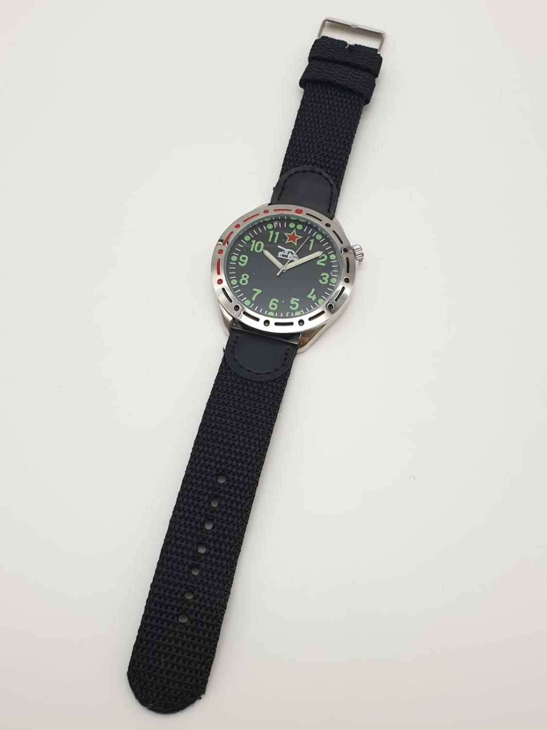 1980'S RUSSIAN TANK WATCH , BOXED AS NEW - Image 4 of 6