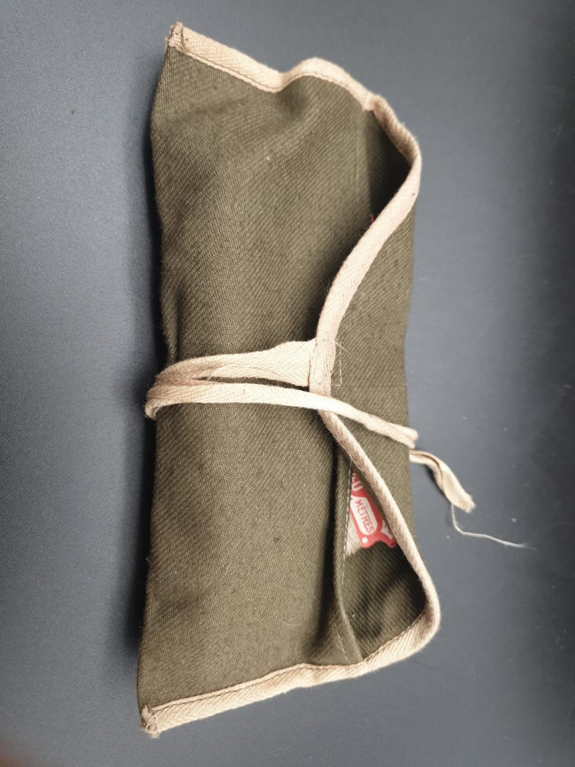 Vietnam War Era French Foreign Legion ?House Wife? Sewing Kit. The handle unscrews to stow the - Image 6 of 6